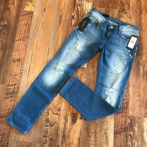NWT Emma Slim Boyfriend Mavi Jeans